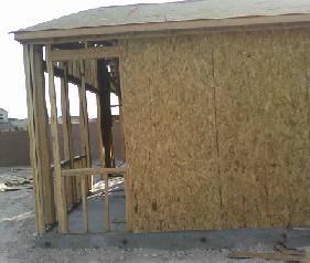 Shear wall, Wall framing, framing a window, frame a wall, framing a house, House framing instructions