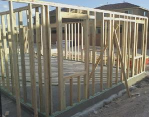 How to frame a house, Framing a house, House framing techniques, House framing instructions, Wood frame construction